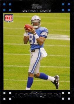 Calvin Johnson Rookie Card